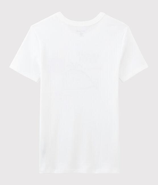 Serge Bloch women's T-shirt Ecume white