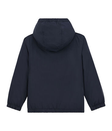 Unisex Children's Warm Reversible Windbreaker Smoking blue