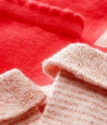 Baby girls' socks - pack of 2