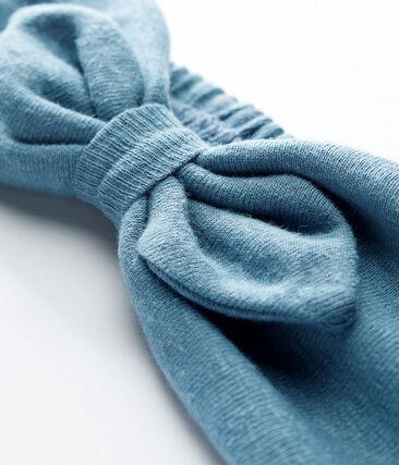 Baby girls' headband Fontaine blue