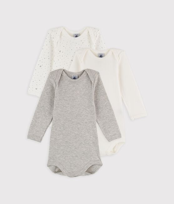 Babies' Long-Sleeved Bodysuit - 3-Pack . set