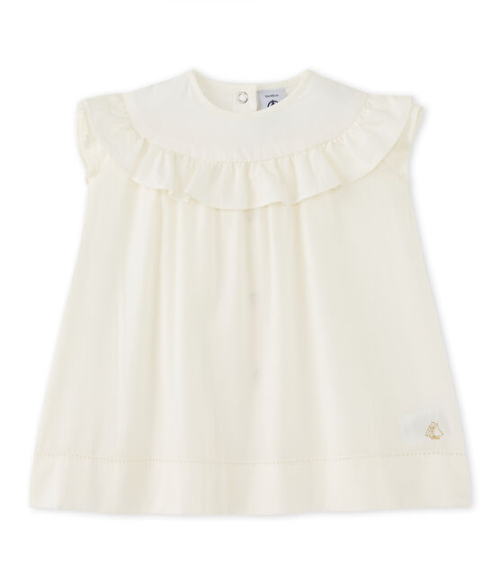 Baby girl's formal dress Lait white