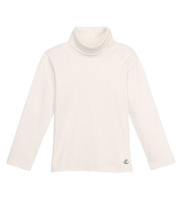 Unisex Children's Plain Undershirt Coquille beige