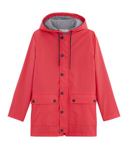 Unisex Raincoat Signal red