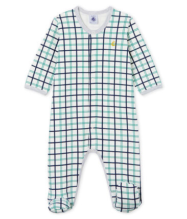 Baby Boys' Tube Knit Sleepsuit