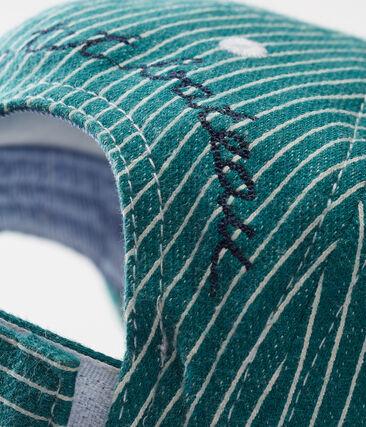 Baby boys' striped cap