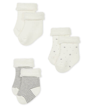 Knitted Babies' Socks - 3-Piece Set . set