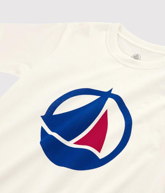 Women's/Men's Made in France T-shirt Marshmallow white