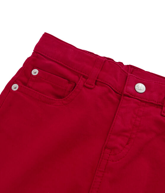 Boys' Trousers Terkuit red