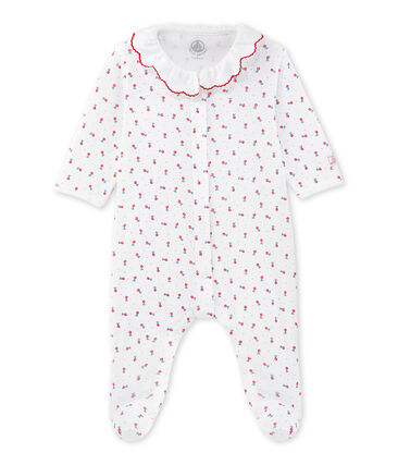 Baby girls' printed pyjamas