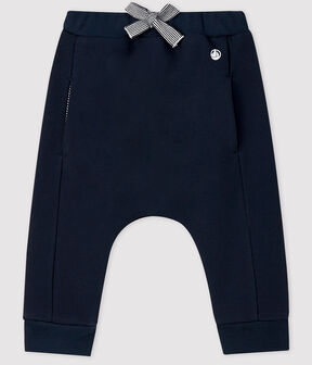 Baby boy's fleece trousers SMOKING