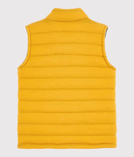 Baby boy's sleeveless jacket Boudor yellow
