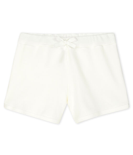 Girls' Shorts Marshmallow white