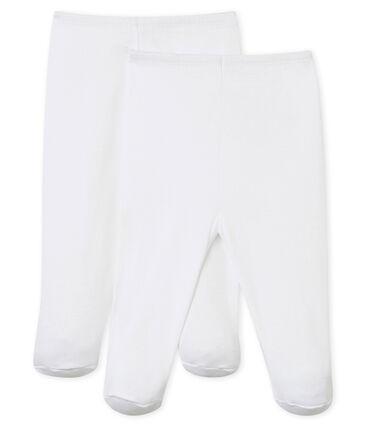 Babies' Trousers - 2-Piece Set Ecume white