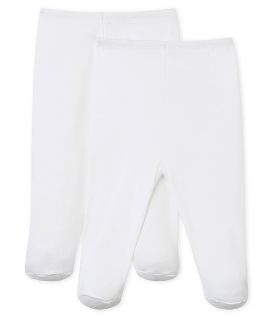Babies' Trousers - 2-Piece Set Ecume white