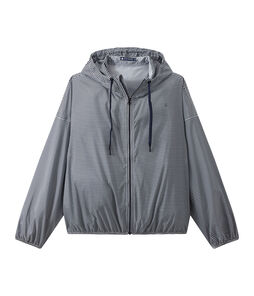 Unisex short windbreaker