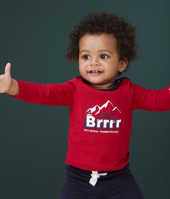 Baby boy's t-shirt Terkuit red