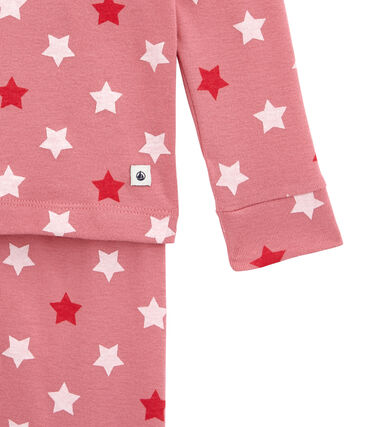 Little girl's fitted pyjamas.
