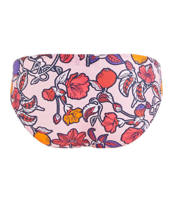 Women's Eco-Friendly Bikini Bottoms Patience pink / Multico white
