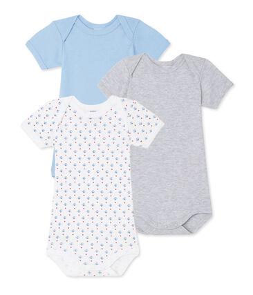 Pack of 3 baby boy bodysuits