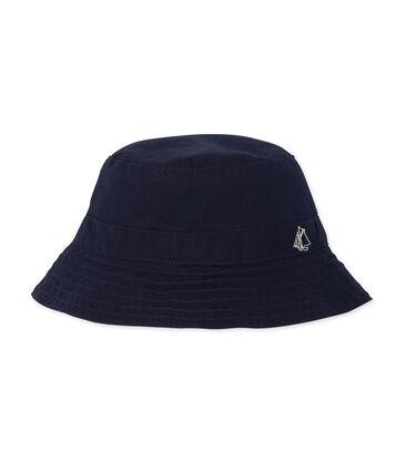 Unisex twill bucket hat for babies Smoking blue
