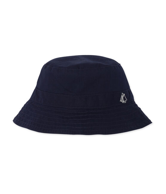 Unisex twill bucket hat for babies Smoking blue