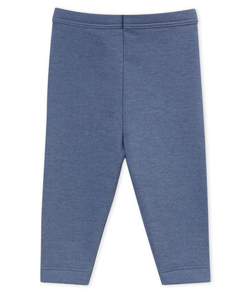 Baby boy's leggings Turquin blue