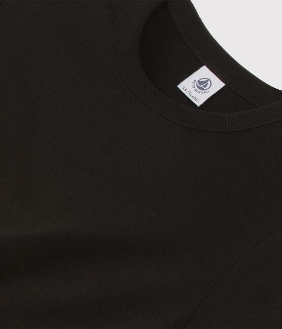 Women's iconic round neck T-shirt Noir black