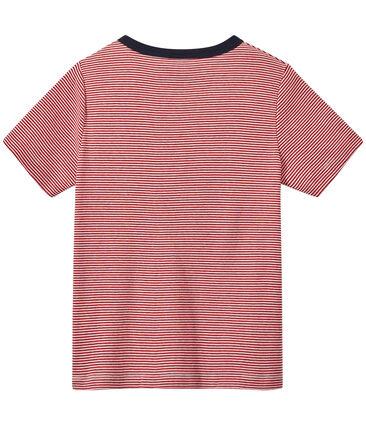 Boy's milleraies-striped T-shirt