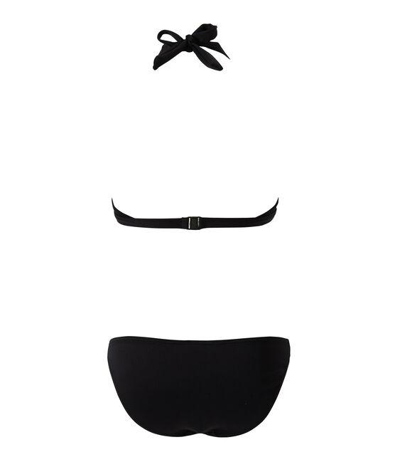 Women's Two-Piece Swimsuit Noir black