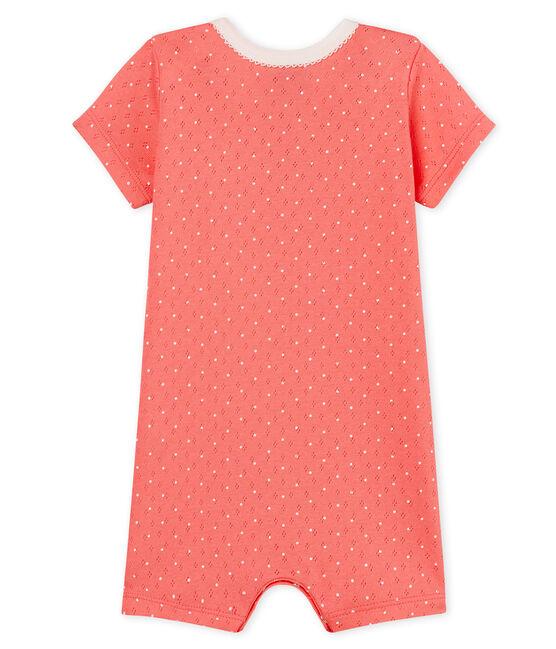 Baby Girls' Shortie Cupcake pink / Marshmallow Cn white