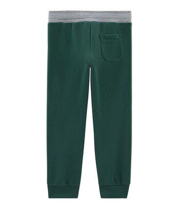 Boys' Fleece Trousers Sousbois green