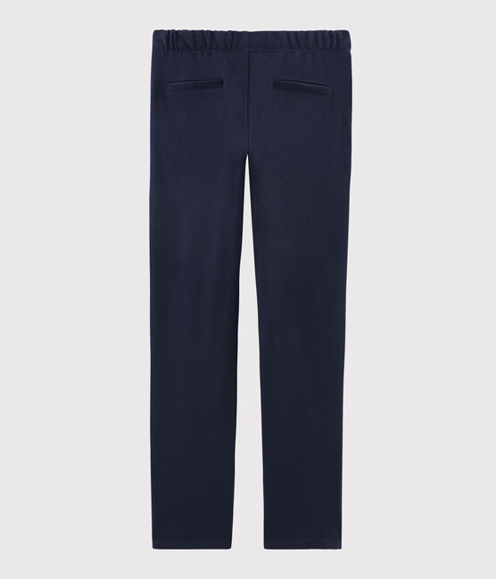 Women's navy blue trousers SMOKING