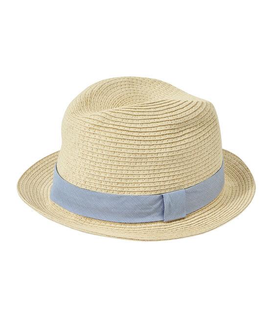 Unisex children's straw hat Naturel pink