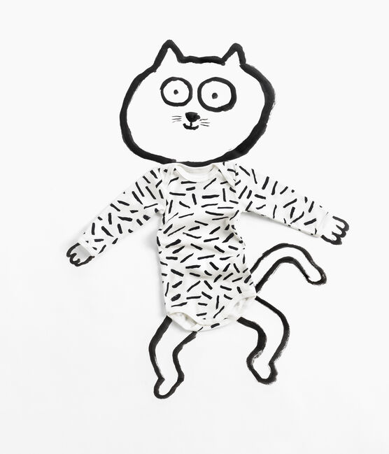 Babies' Long-Sleeved Bodysuit - 3-Piece Set Jean Jullien . set