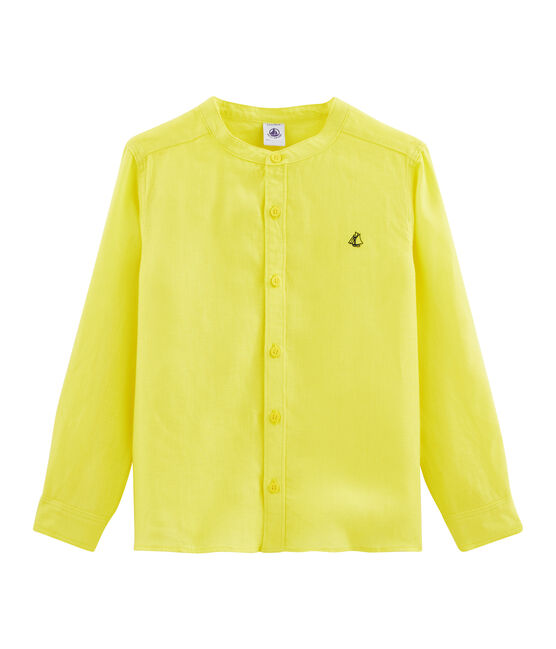 Boys' Shirt Eblouis yellow