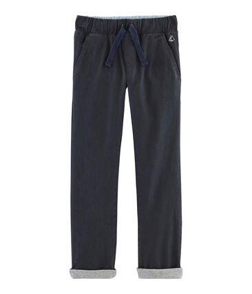 Boys Warm Lined Trousers Capecod grey