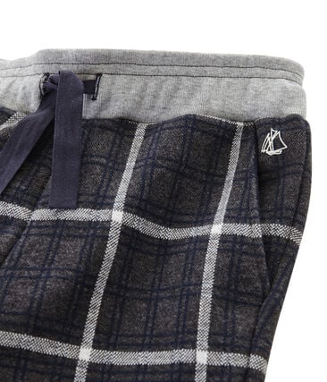 Boys' Checked Knit Trousers