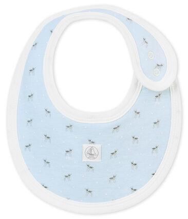 Unisex baby's printed tubic bib