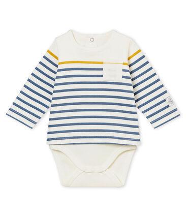 Baby boy's long sleeved tee-shirtbody