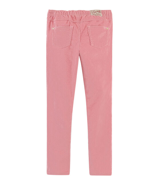 Girls' Slim-Fit Velour Trousers CHARME