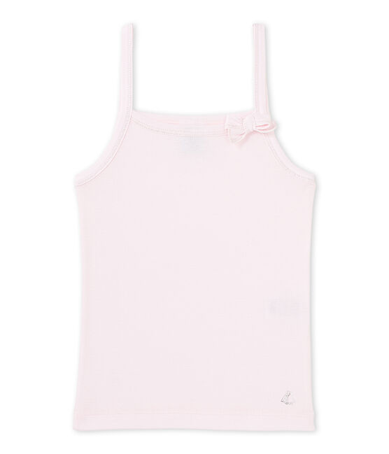 Girls' vest top Vienne pink