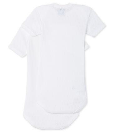 Unisex Babies' Short-Sleeved Bodysuit - Set of 2