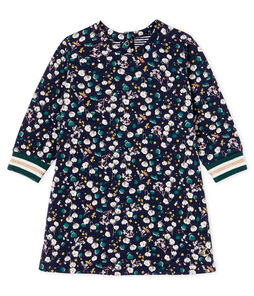 Baby Girls' Long-Sleeved Print Dress