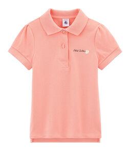 Girls' Short-sleeved Polo Shirt