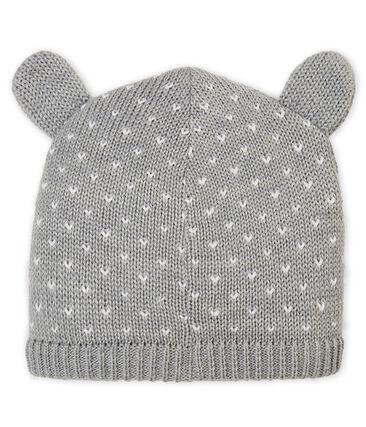 Unisex Baby Fleece-Lined Bonnet