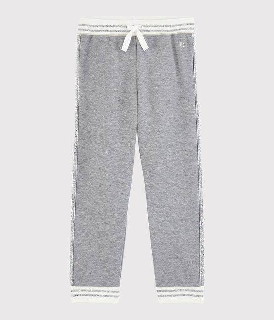 Girls' Sports Trousers Subway grey