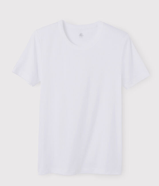 Men's short-sleeved T-shirt Ecume white