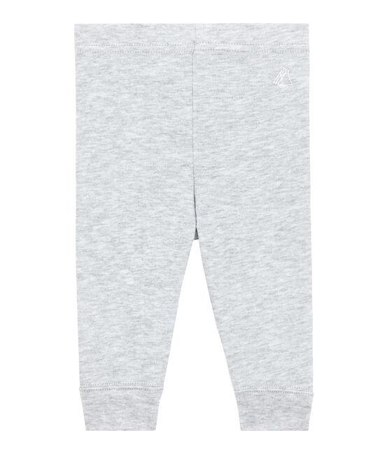 Baby girls' leggings Beluga Chine grey