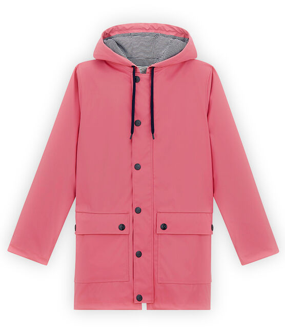 iconic mixed raincoat Cheek pink